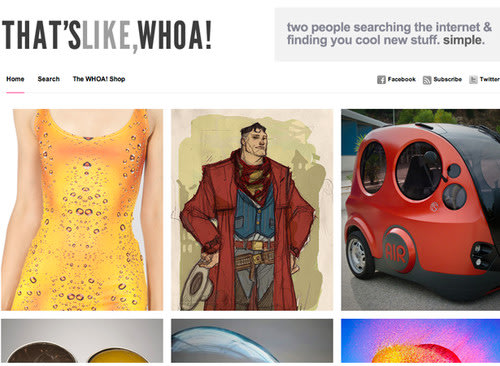 WEBSITE OF THE DAY: That�s Like Whoa. WebsiteOfTheDay, Websites, Software, Online 0