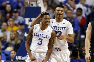 College basketball rankings 2015: Kentucky stands alone at No. 1