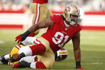 Ray McDonald arrested for domestic violence, child endangerment