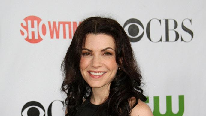 Julianna Margulies arrives at the CBS, CW, CBS Television Studio and Showtime TCA party at the Huntington Library on August 3, 2009 in Pasadena, California.