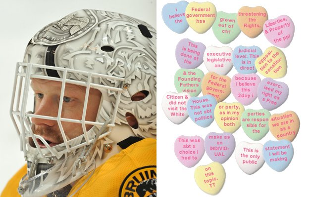 Puck Daddy's NHL Valentine's Day Candy Hearts Gallery; eat it up, hopeless romantics | Puck Daddy…