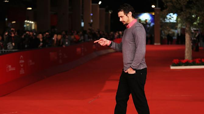 James Franco And Douglas Gordon Premiere - The 7th Rome Film Festival