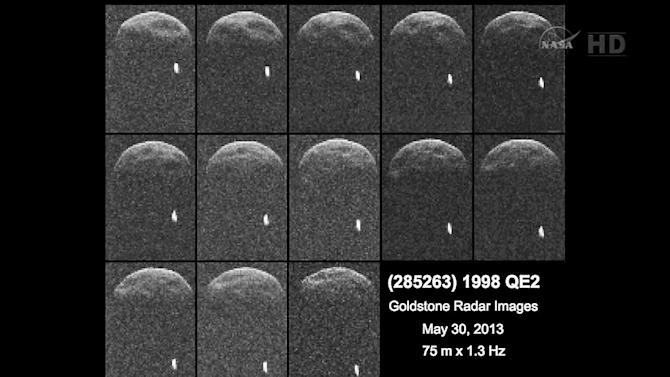 1998 QE2 asteroid expected to pass by Earth on Friday