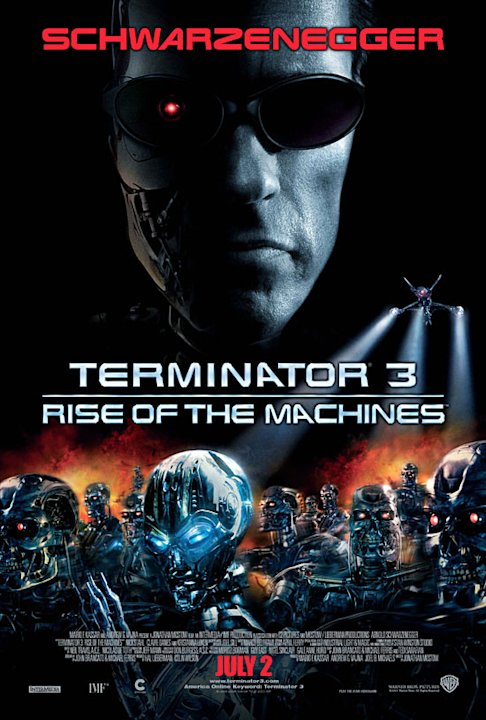 Terminator 3 Rise of the Machines Still Poster