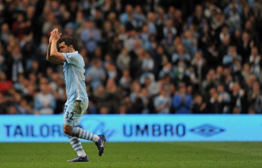 Manchester City's Carlos Tevez