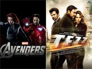 THE AVENGERS floors TEZZ: Hollywood busts Bollywood