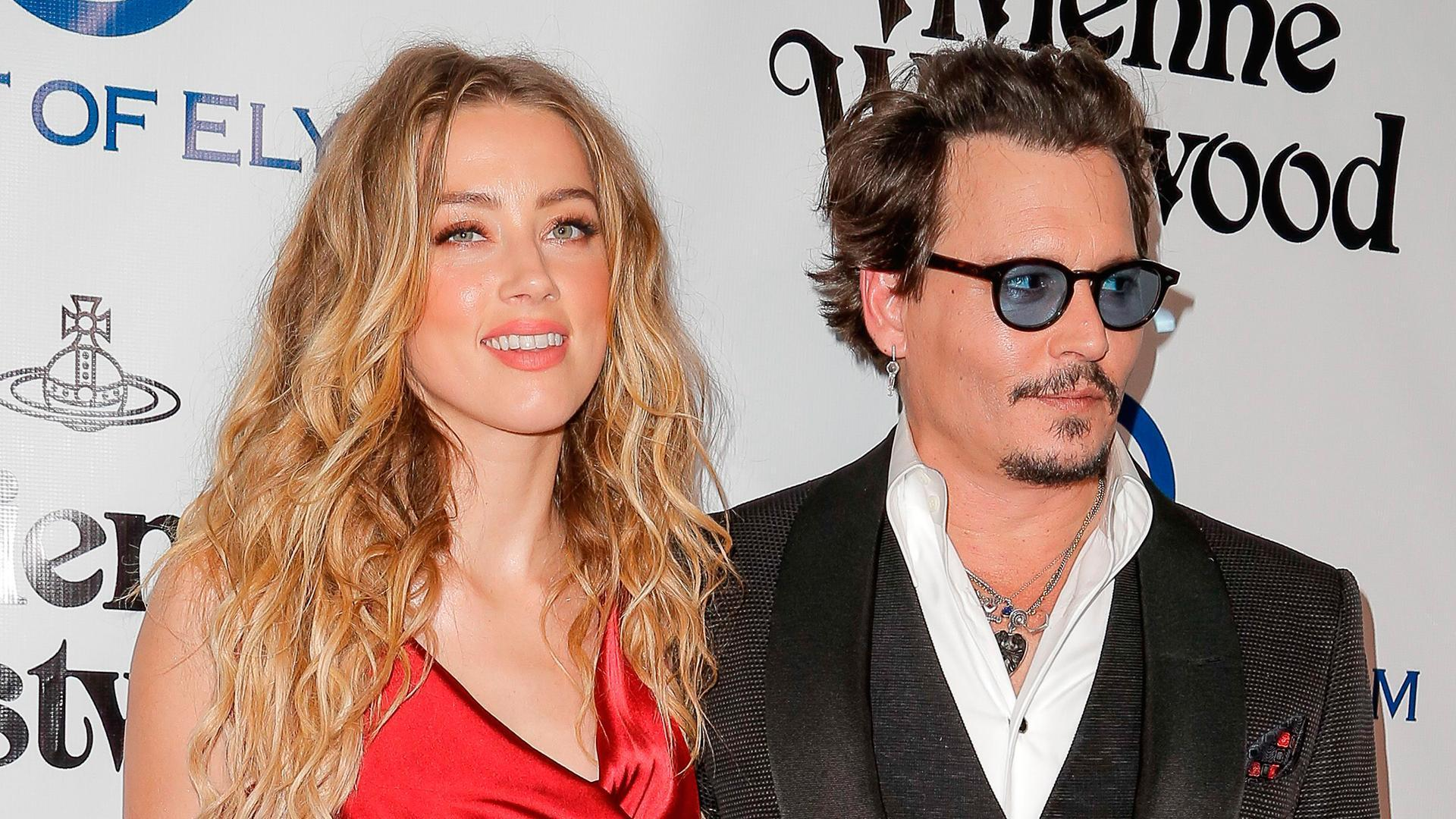 Amber Heard Says Johnny Depp Is 'Scary,' Struggles with Drug and Alcohol Abuse