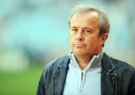 Experienced French coach Pierre Lechantre, pictured in 2009, stepped down as Senegal coach just two weeks after being appointed on Thursday because of a disagreement over money, the Senegalese Football Federation (FSF) announced