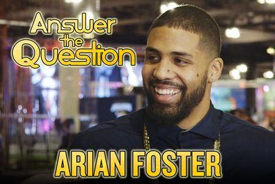 Arian Foster goes on Super Bowl game show, talks U.S. History and Forrest Gump