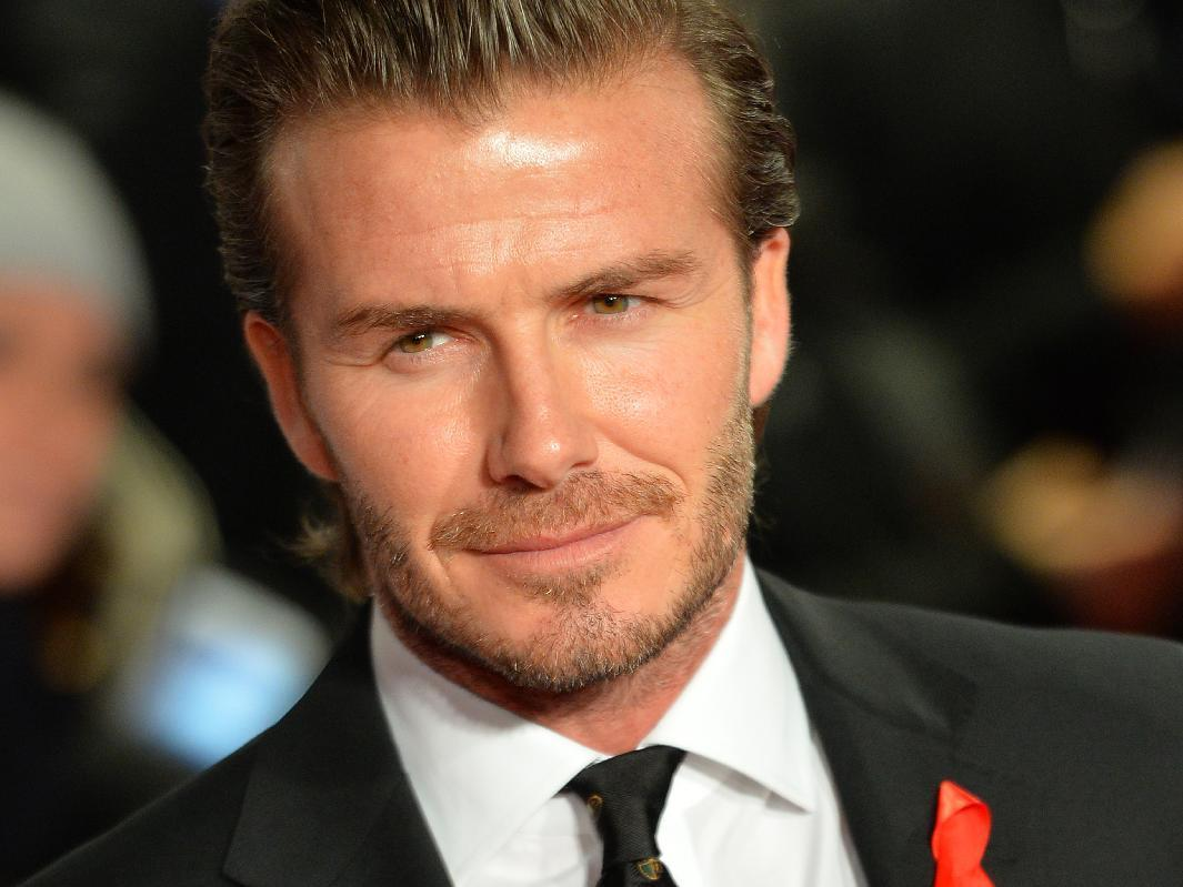 Beckham on banknotes? Only on April Fools' Day
