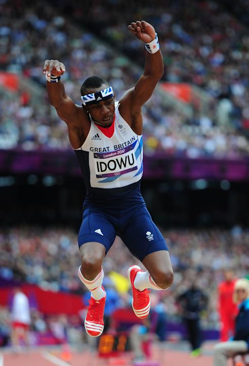 Athletics - Phillips Idowu File Photo