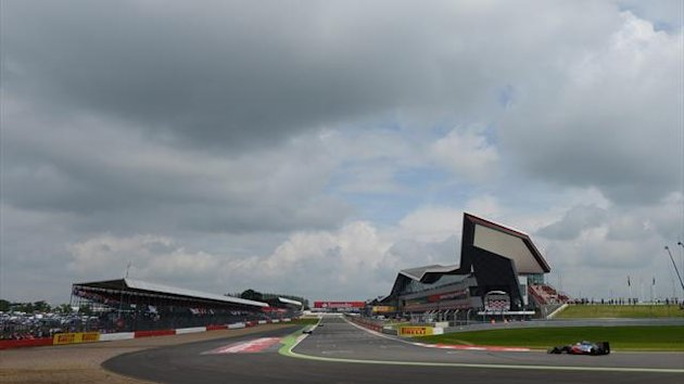 2012 Silverstone Track