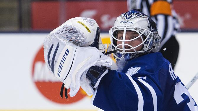 Greening, Senators top Maple Leafs 3-2