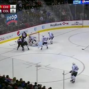 Corey Crawford Save on Alex Tanguay (02:44/1st)