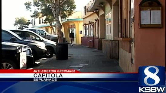 Capitola to enforce stricter public smoking laws