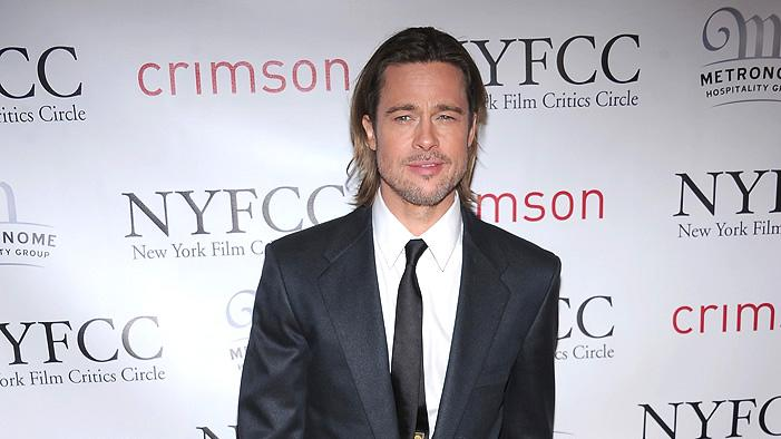 New York Film Critics Circle Awards 2012 Brad Pitt