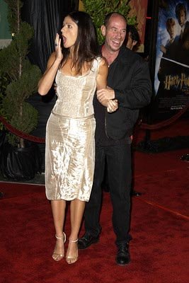Jill Hennessy and Miguel Ferrer at the Hollywood premiere of Warner Brothers' Harry Potter and The Chamber of Secrets