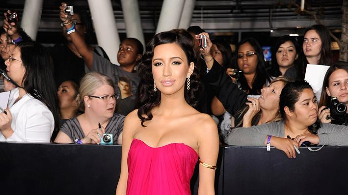 The Twilight Saga Breaking Dawn Part 1 2011 LA Premiere Christian Serratos