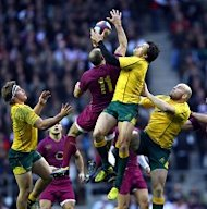 Australia bounced back from their heavy defeat against France to beat England at Twickenham
