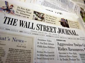 Wall Street Journal Criticized for Publishing Romney Adviser Op-Ed Pieces Without Disclosing Ties