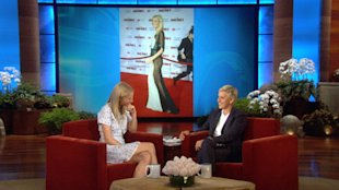 Gwyneth Paltrow on Her Sheer Dress