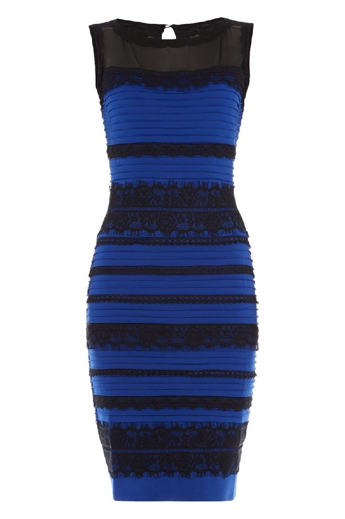 Black/blue or white/gold? Dress debate goes viral