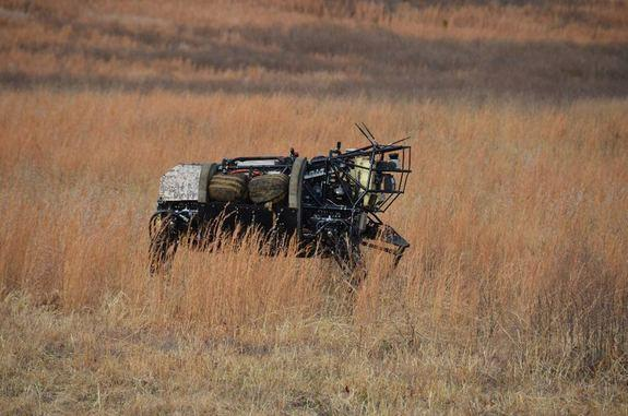 Military's Robot Mule Carries on Despite Fall