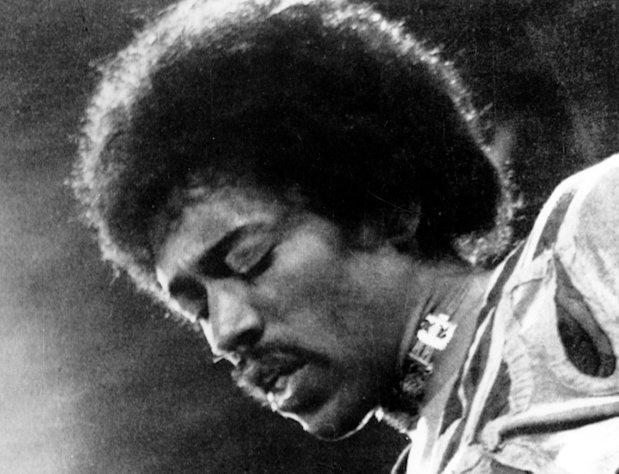 FILE- In this 1970 file photo, Jimi Hendrix performs on the Isle of Wight in England. Rock &#39;n&#39; roll will never die, but it&#39;s a hazardous occupation. A new study confirms that rock and pop musicians more often die prematurely than the general population, and an early death is twice as likely for solo musicians than for members of bands. (AP Photo/file)
