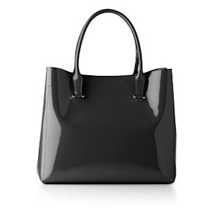 Crocus Patent Shoulder Bag, &#xa3;275, by LK Bennett : What To Wear: Office