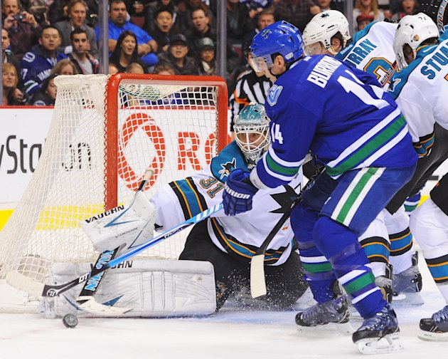San Jose Sharks v Vancouver Canucks
