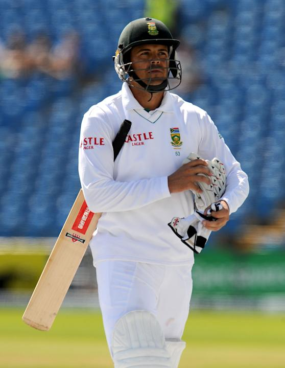 Jacques Rudolph scored three as South Africa struggled on Sunday