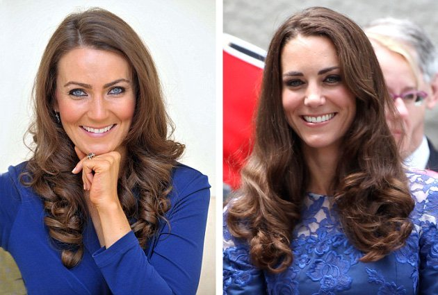 Sosie de Kate Middleton