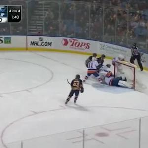 Kevin Poulin Save on Rasmus Ristolainen (10:28/1st)