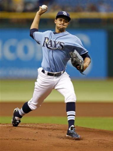 Archer pitches 5-hitter, Rays blank Astros