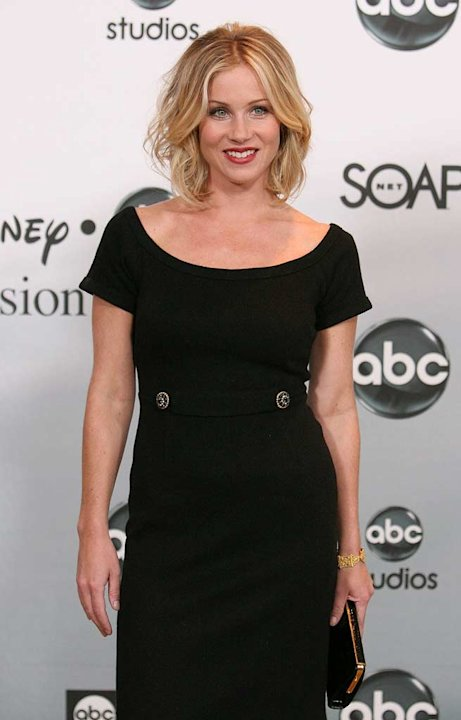 Christina Applegate arrives at the ABC Summer Press Tour Party.