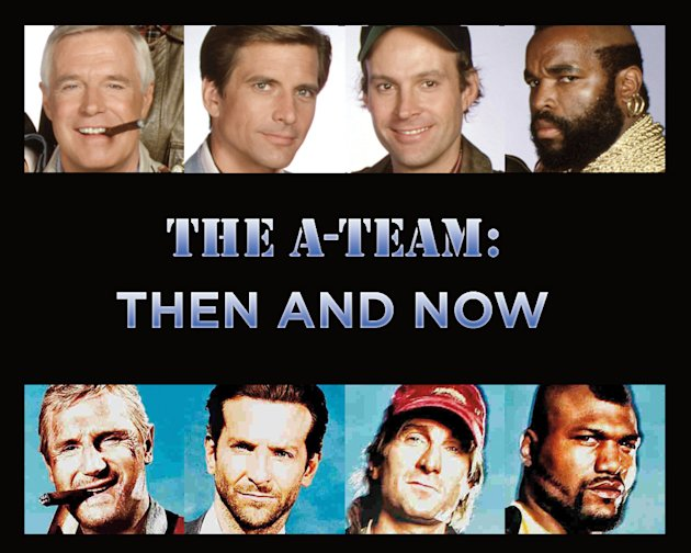 The A Team Then and Now Title Card 2010