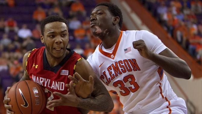 NCAA Basketball: Maryland at Clemson