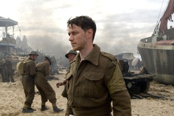 James McAvoy in Focus Features' Atonement