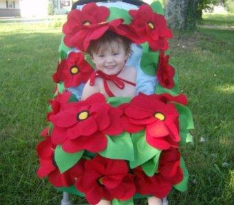 Poppy Fields Stroller Costume and Hat