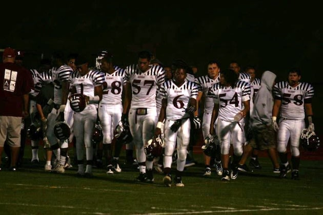 Kearny's away uniforms also feature sleeve stripes — BeRecruited