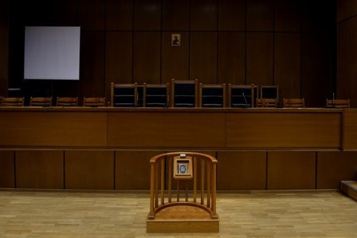 <p>An empty courthouse is pictured at the supreme court in Athens in September 2012. A tug-of-war between executive and judicial authorities has come to the fore after complaints by the government over adverse rulings that could affect the country's reforms, which are a condition of bankruptcy-saving EU-IMF loans.</p>