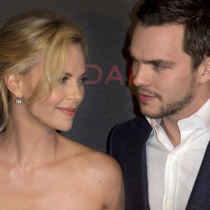 Theron and Hoult Talk 'Dark Places'