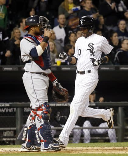 Indians rally for 3-2 win over White Sox