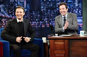 Jeremy Renner All Smiles on Jimmy Fallon After Baby News