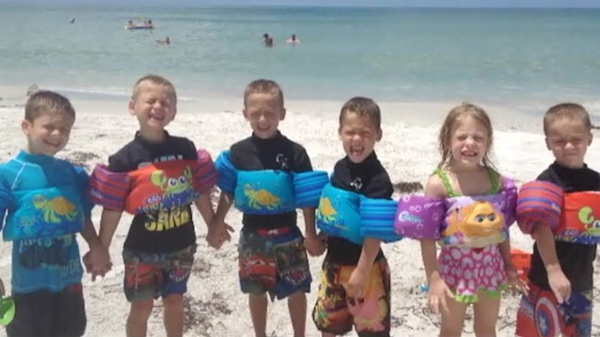 Florida Sextuplets Turn 6 Years Old | Watch the video ...