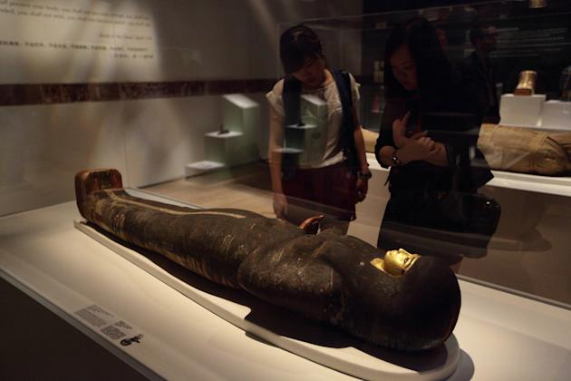 Mummy Exhibition Opens At The Art Science Museum