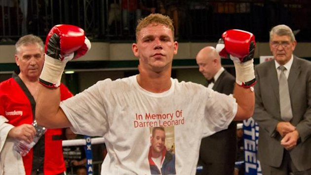 Billy Joe Saunders (Neill Hamersley - Eurosport)