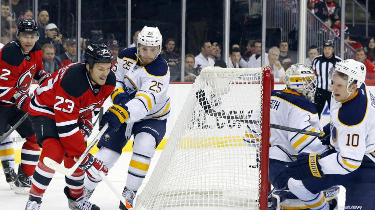 NHL: Buffalo Sabres at New Jersey Devils