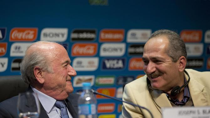 Blatter basks in FIFA support ahead of World Cup