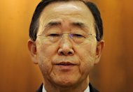 UN leader Ban Ki-moon, seen here in 2011, has led international outrage at the growing number of journalists killed in the line of duty amid widespread calls for greater protection for reporters